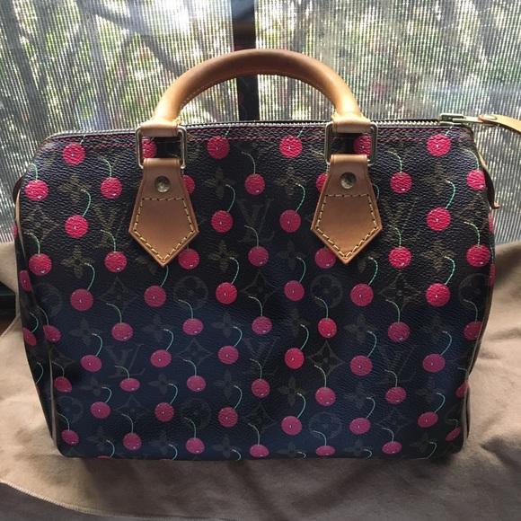 b712c929c42e Louis Vuitton Handbags - Louis Vuitton Cerises cherry Speedy 25
